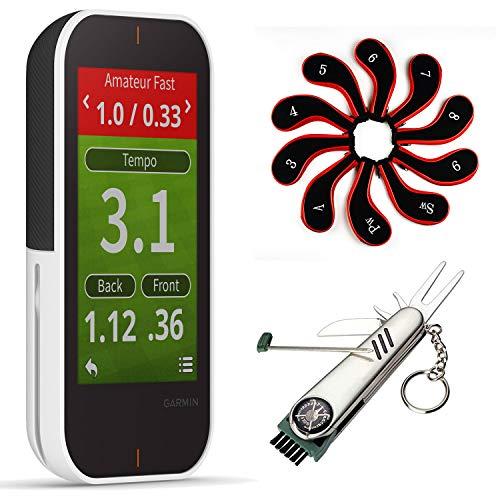 Garmin Approach G80 All-in-One Premium Golf GPS Handheld Device with Birdie Bundle