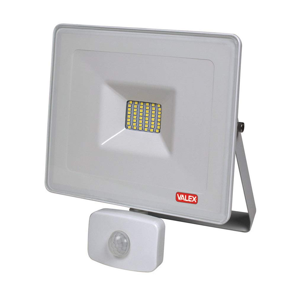 Faro Foco Proyector LED 30 W valex Slim con sensor de movimiento y ...