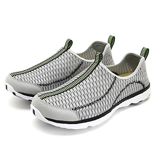 d5bd075b3ed4a2 on sale SAGUARO Women's Men's Mesh Aqua Water Shoes Quick Drying Walk On  Beach Outdoor(
