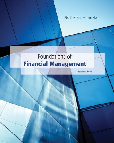 Loose-Leaf Foundations of Financial Management with Time Value of Money card