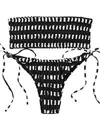 Amazon.com: Bandeau - Bikinis / Swimsuits & Cover Ups