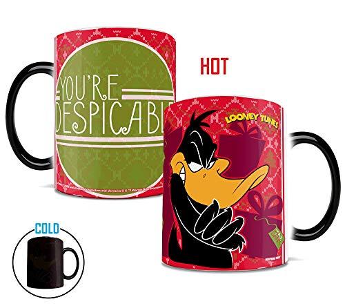 Looney Tunes Mug - Daffy Duck - Despicable - Ceramic Color Changing Heat Reveal Coffee Tea Mug - Morphing Mugs Heat Sensitive Mug - by Trend Setters Ltd.