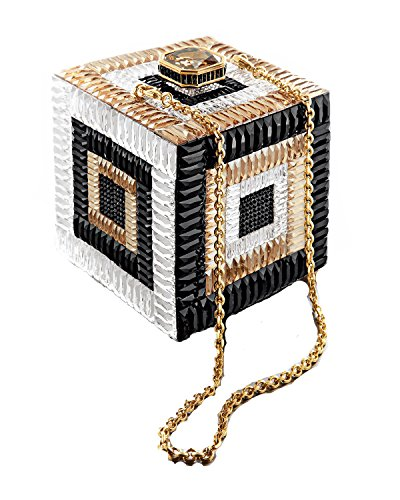 Couture Cube Be Square Crystal Clutch by Judith Leiber