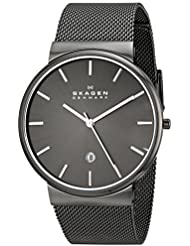 Skagen Mens SKW6108 Ancher Grey Mesh Watch