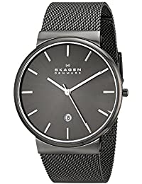 Men's SKW6108 Ancher Grey Mesh Watch