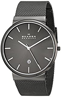 Skagen Men's Ancher Quartz Stainless Steel and Mesh Watch Color: Gray, (Model: SKW6108) (B00KNQX43G) | Amazon Products