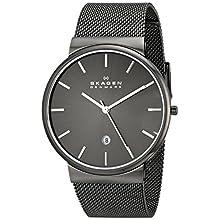 Men's Ancher Grey Mesh Bracelet Watch