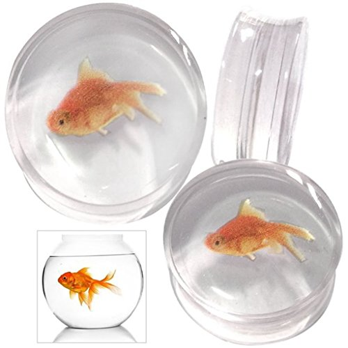 swanjo-pair-acrylic-goldfish-print-double-flared-ear-gauges-plugs-00g-1