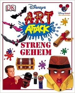Art Attack Streng Geheim Amazonde Neil Buchanan Bã¼cher