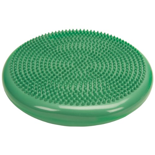Cando 30-1870G Green Inflatable Vestibular Disc, 13-51 64 Diameter, 300 lbs Weight Capacity