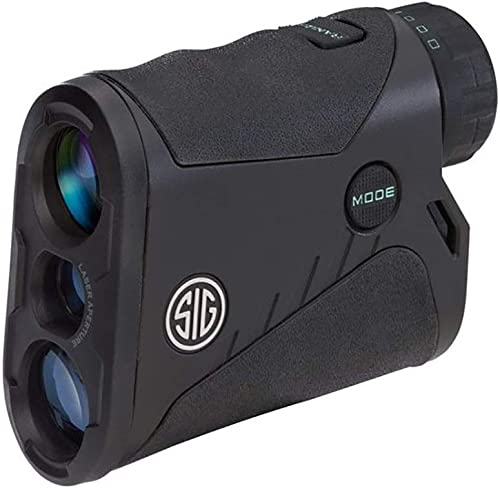 Sig Sauer 4×20 KILO1200 Laser Rangefinder Black, Class 3R