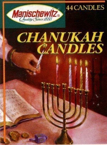 MANISCHEWITZ CANDLE CHANUKAH, 44 PC