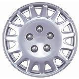 """Drive Accessories KT-996-14S/L, Honda Accord, 14"""" Silver Replica Wheel Cover, (Set of 4)"""