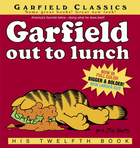 Garfield Out to Lunch: His Twelfth Book by Davis, Jim