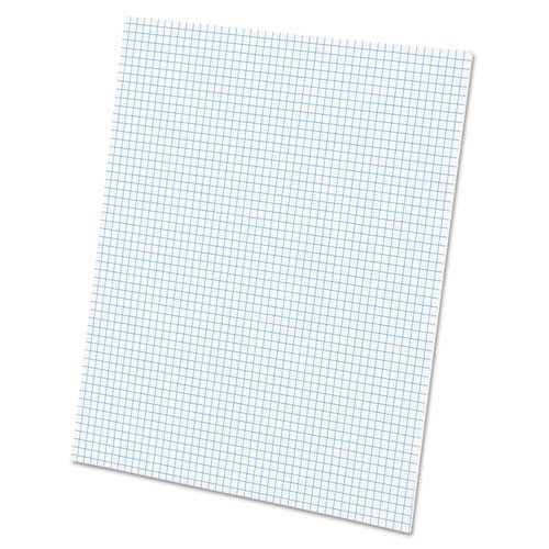 20lb Quadrille Pad w/5 Squares/Inch, Letter, White, 1 50-Sheet Pad, Sold as 1 Pad