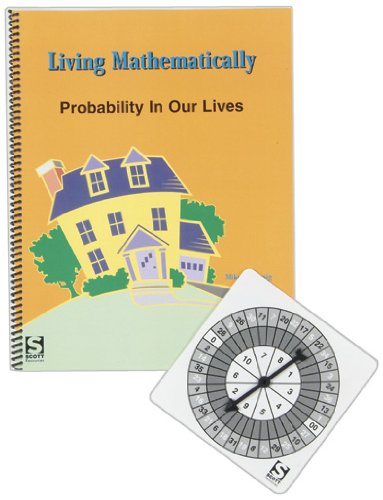 American Educational Living Mathematically Activity Guide, Probability In Our Lives (Math Skills Life Game)