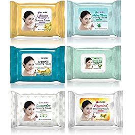 Epielle OG Makeup Remover Cleansing Wipes Tissue | Gentle for all Skin Types | Daily Facial Cleansing Towelettes…