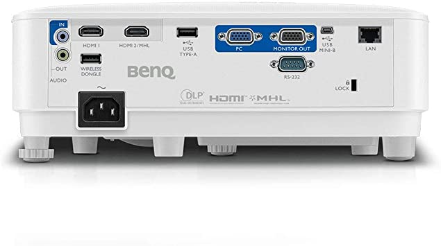 Benq MX731 Video - Proyector (4000 lúmenes ANSI, DLP, XGA ...