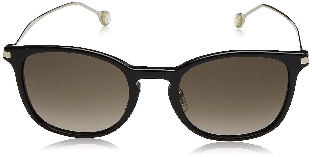 Amazon.com: anteojos de sol Gucci Hombre 1082/S 51 mm, negro ...