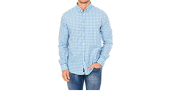 Armani Camisa Manga Larga Jeans: Amazon.es: Ropa y accesorios