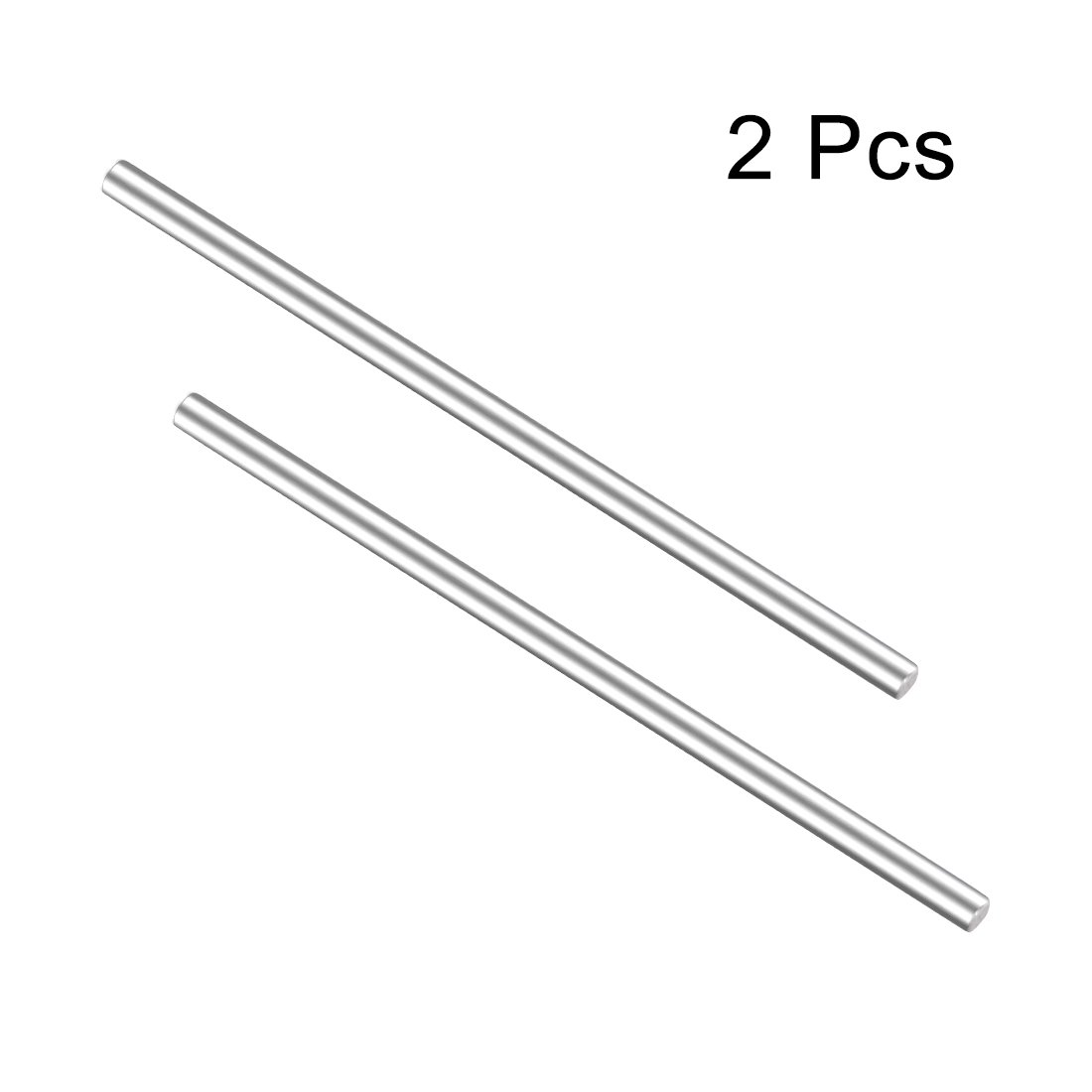 uxcell 2Pcs Stainless Steel Shaft Round Axles 70mmx3mm for DIY Toy RC Car Model Part