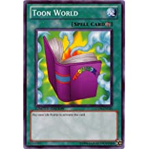 YuGiOh Gold Series 4 Single Card Toon World GLD4-EN036 Common
