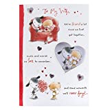 Hallmark Medium Wife Cute Embossed Birthday Card