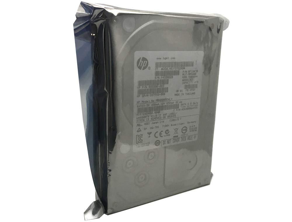 4TB 7200RPM 64MB Cache SATA 6.0Gb//s 3.5 Enterprise Hard Drive HP//HGST Ultrastar 7K4000 HUS724040ALA640 3 Year Warranty 0F19470 | 695996-003