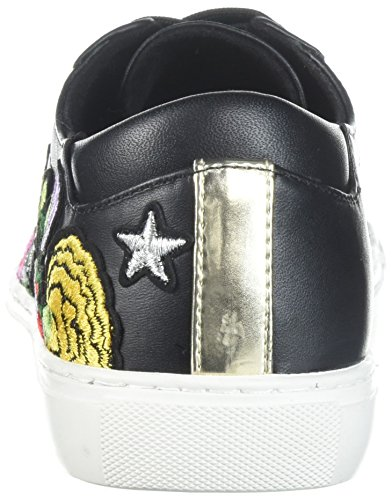 Media Sneaker Donne York Floreale Kenneth New 10 Allacciata Nero Ricamato Di Cole Kam wO7zxwfq