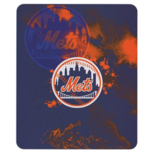 Ny Mets Throw (New York Mets MLB Vapors Style Fleece Throw Blanket (50x60))