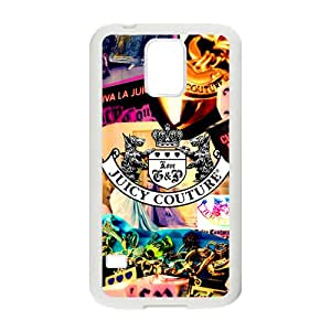 LINGH Juicy Couture Fashion Comstom Plastic case cover For Samsung Galaxy S5