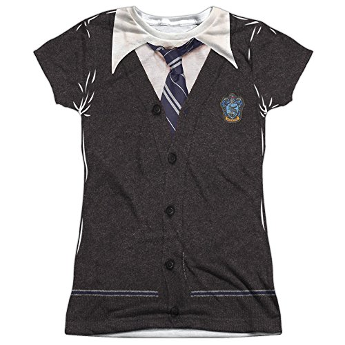 Junior Fit - Harry Potter - RAVENCLAW Uniform All Over Print T-Shirt (Harry Potter Uniform Shirt)