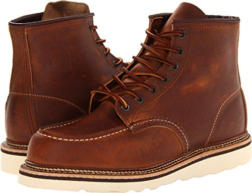"""Red Wing Heritage 6"""" Moc Toe Copper Rough & Tough 9"""