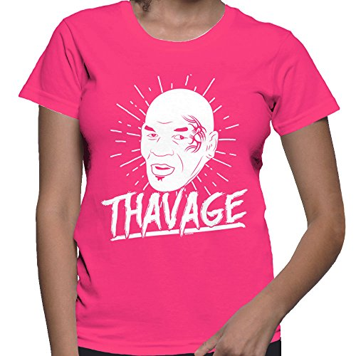 Women's Thavage T-shirt (Pink, Small)