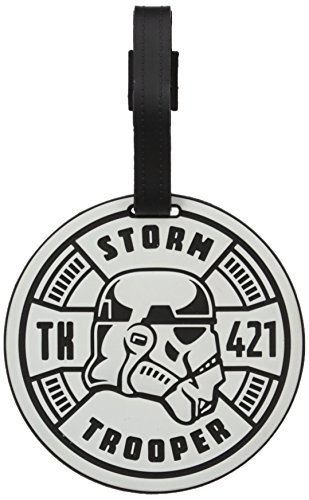 American Tourister Storm Trooper Travel Accessory Luggage ID Tag (Luggage Tag Star Wars)