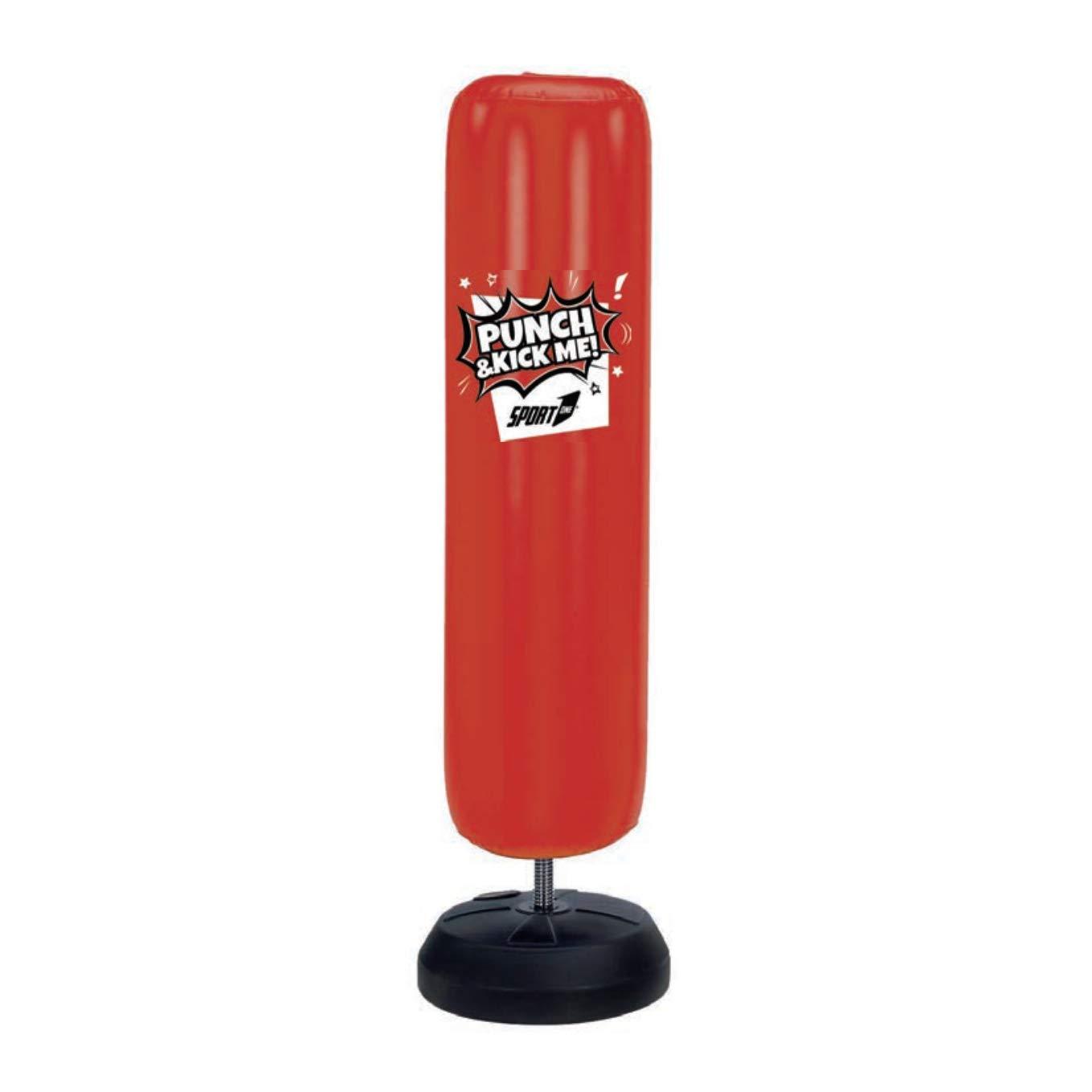Deporte One 82 - 632 G, Punch Bag Hinchable Juventud Unisex, Rojo ...