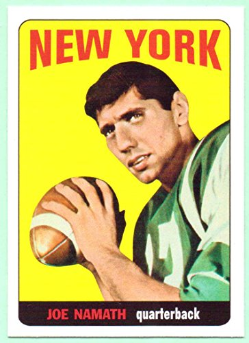 Joe Namath 2012 Topps 1965 Rookie Reprint #122 - New York Jets