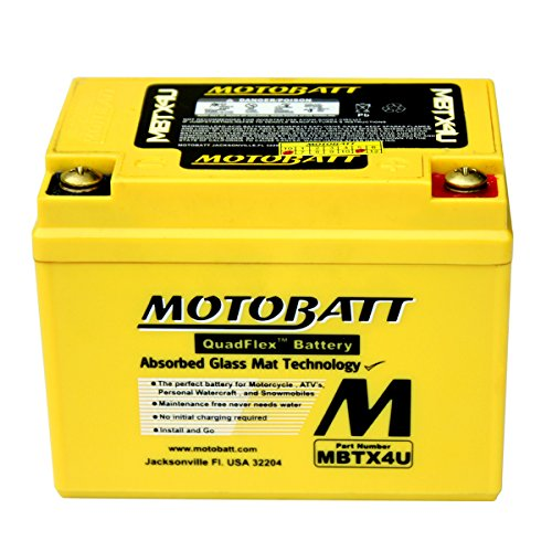 New AGM Battery For Suzuki AE50 AH50 AP50 AY50 CP50 / Vespa ET2 LX50 2T Scooter by DISCOUNT STARTER & ALTERNATOR