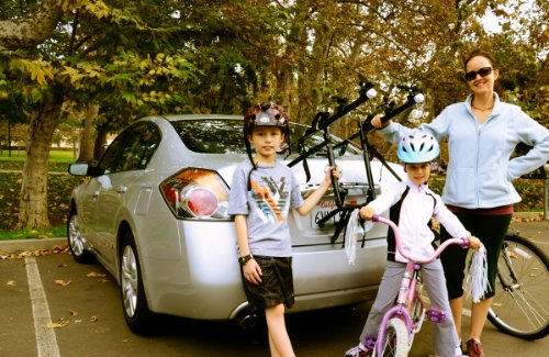 Allen Sports Deluxe 3-Bike Trunk Mount Rack