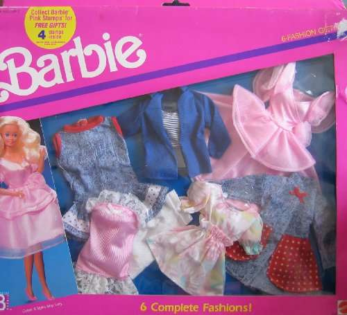Barbie 6 Fashion Gift Set - 6 Complete Fashions! by Barbie