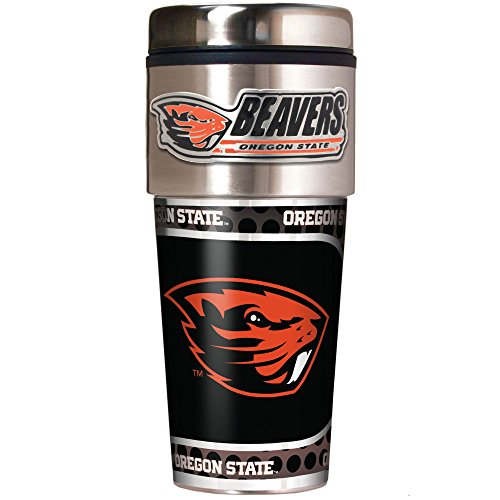 State Tailgate Beavers Oregon (NCAA Oregon State Beavers Metallic Travel Tumbler,  16-Ounce)