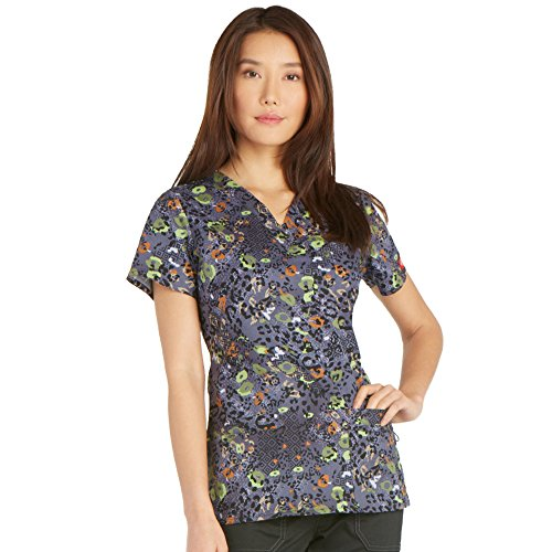 Dickies Womens Youtility V Neck Animal