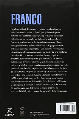 Franco (FUERA DE COLECCIÓN Y ONE SHOT): Amazon.es: Payne, Stanley G., Palacios, Jesús: Libros
