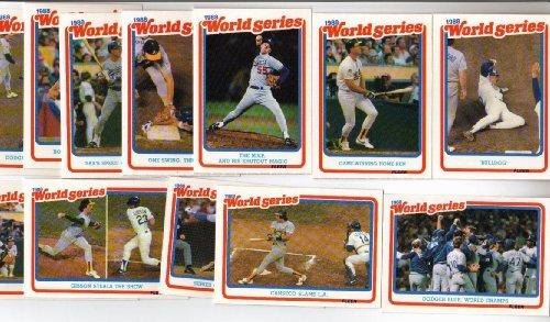 1987 Fleer 1986 World Series Baseball Card Set - Boston Red Sox and New York Mets ()