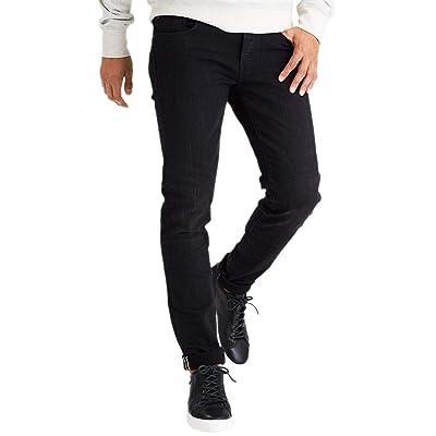 American Eagle Mens 4104081 Flex Slim Selvedge Jean, Black Wash (40x32) at Men's Clothing store