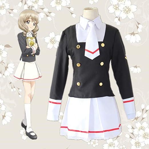 Lydias Anime Cosplay Ropa Card Captor Sakura Cosplay del Traje De ...