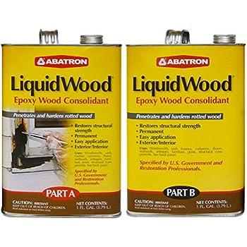 Abatron Woodepox Epoxy Wood Replacement Compound 12 Oz