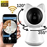 Wireless IP Camera Baby Monitor with Camera 1080P HD WiFi Security Surveillance Camera with Night Vision Motion Detection Nanny Cam For Sale
