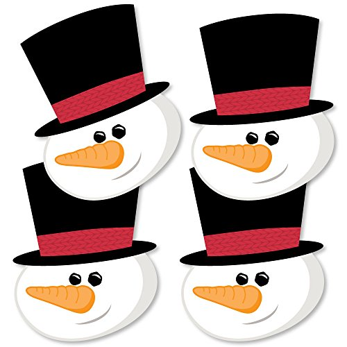 Let It Snow - Snowman Decorations DIY Christmas & Holiday Party Essentials - Set of 20]()