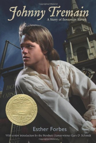 Book cover for Johnny Tremain